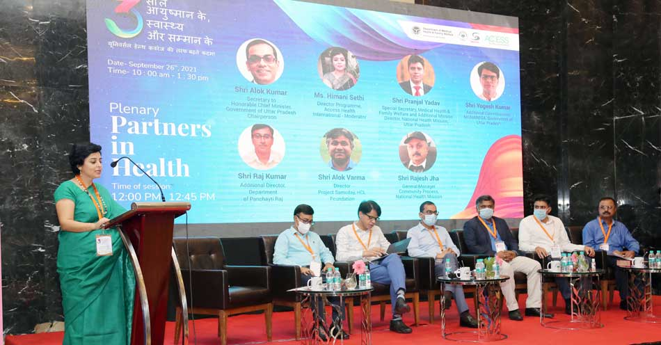 ACCESS Heath works towards facilitating AB-PMJAY implementation in Uttar Pradesh, organizes high-level anniversary event
